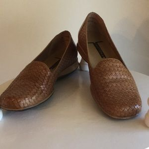 Trotters Woven Flat Loafer Size 9N